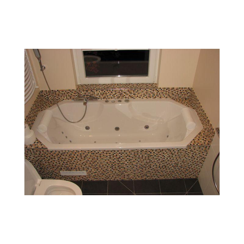 whirlpool whirlwanne norderney 192x86x48cm kombi system. Black Bedroom Furniture Sets. Home Design Ideas