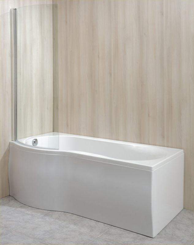 acryl duschbadewanne mono 170x75 85x46cm links rechts. Black Bedroom Furniture Sets. Home Design Ideas