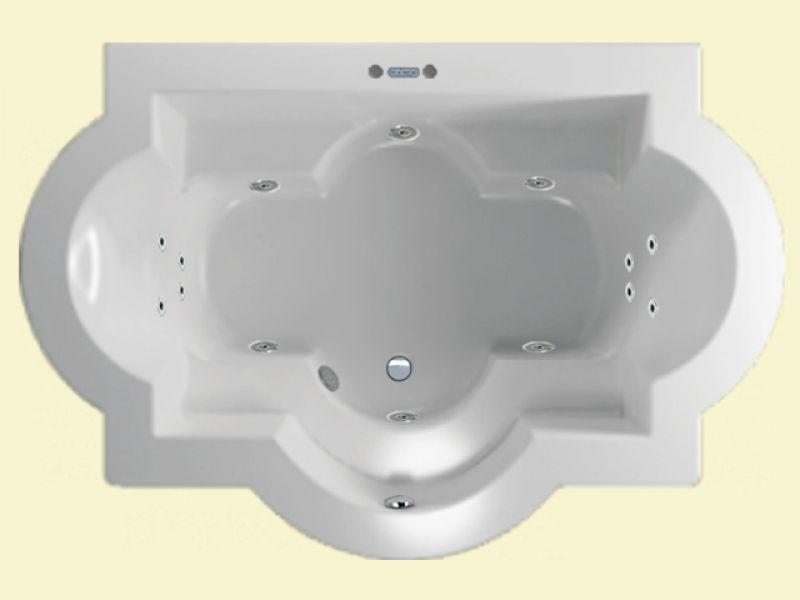 whirlpool whirlwanne paros 206 x 139 cm jet system. Black Bedroom Furniture Sets. Home Design Ideas